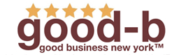 good b logo
